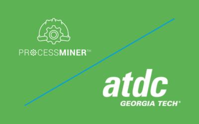 ProcessMiner™ Announces Acceptance into Georgia Tech Advanced Technology Development Center (ATDC) Accelerator Program